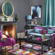 purple livingroom favorite colour combination for living room with purple and voilet