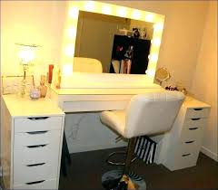 Bedroom Vanity Set With Lights Bedroom Vanity Table With Drawers Trafficsafety Club Throughout