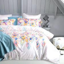 um image for custom printed duvet covers uk custom printed duvet covers luxury pea tail queen