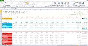 Annual Budget Spreadsheet by Family Budget Template Excel 2013 Excel Tmp