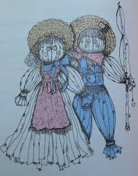 make a pioneer rag doll with your kids and grandkids meridian