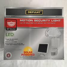 Defiant Solar Motion Security Light Defiant Security Light Not Working 28 Images 110 Degree White