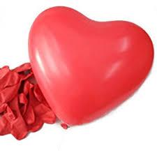 heart shaped items hde 6 heart shaped balloons s day