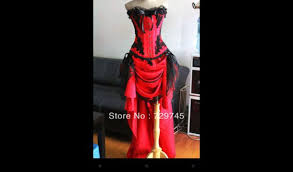 dress red and black hi lo dresses gothic high low dresses