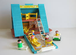vintage fisher price a frame chalet via etsy back in the day