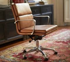 Desk Chair Ideas Saarinen For Knoll Executive Arm Chair In Saddle Leather And Suede