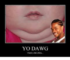 Yo Dawg Meme - yo dawg herd u liek chins meme on me me