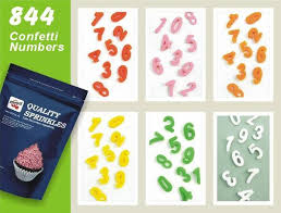 edible numbers confetti tagged confetti page 3 quality sprinkles uk ltd