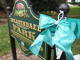 teal ribbons lewes to turn the town teal sept 1 cape gazette