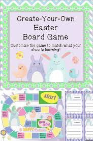 easter games easter game customizable easter activity game cards game