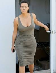 cotton bodycon dress kim kardashian clothing club night