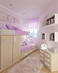 bedroom dazzling purple furry rug and purple sheet bunk bed and