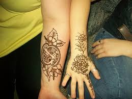 black henna tattoo design ideas for women and men hand forearm