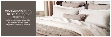 Williams Sonoma Bedding New Linen Bedding At Restoration Hardware Bedding Chic