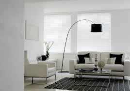 clover and thorne wooden blinds in white gloss window treatments
