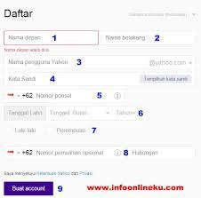 membuat email yahoo indonesia cara daftar email baru yahoo buat email di yahoo indonesia terbaru