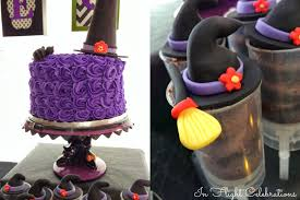Halloween Witch Cake by In Flight Party Ideas A Wicked Soiree