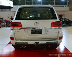 land cruiser 2017 2017 toyota land cruiser trd rear in oman indian autos blog