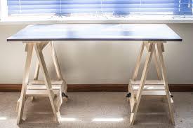 sawhorse desk diy best home furniture decoration