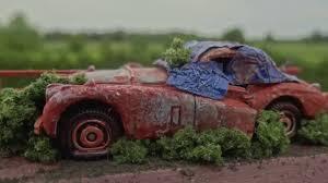 Red Barn Custom Wheels How To Make A Barn Find Matchbox Car Youtube