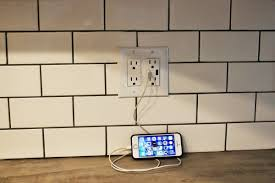 Cool Wall Receptacle How To Install A Usb Wall Charger Outlet