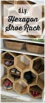 19 diy extra storage shoe organizing ideas 7 honeycomb shoe rack