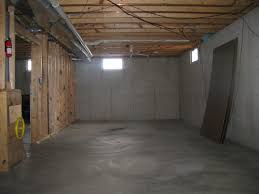 unfinished basement bedroom and bedroom two boys will be sharing
