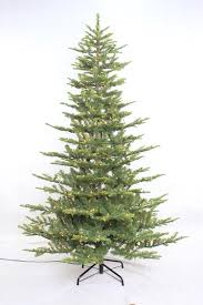 artificial christmas tree the aisle aspen 7 5 green fir artificial christmas tree