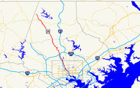maryland byways map maryland route 25