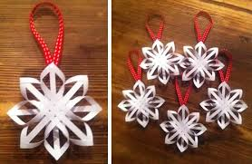 Home Made Christmas Decor How To Make A Star Christmas Tree Ornament Step By Step Homemade