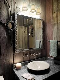 Powder Room Flooring Designer Powder Rooms Modern Light Grey Wood Accent Wall Ceiling
