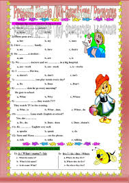 Pronoun Verb Agreement Worksheets 50 Free Esl Wh Questions Worksheets