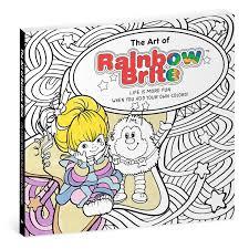 the art of rainbow brite coloring book coloring books hallmark