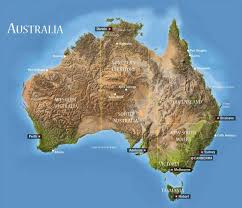 Austrailia Map Western Australia Map South My Blog