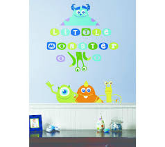 Wall Decal Monsters Inc Wall Decals for Kids Room Monsters Inc