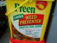 is it safe to use pre emergent weed preventers around bulbs