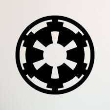 star wars galactic empire decal star wars decal star wars zoom