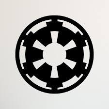 star wars decor star wars galactic empire decal star wars decal star wars