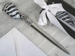 letter opener favors wedding favors bridal shower gifts personalized wedding favors