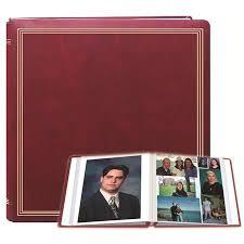 expandable photo albums pioneer pmv206 burgundy x pando magnetic album 11x11 20 pmv206 br