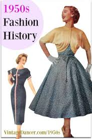 women s clothing 1950s fashion history women s clothing