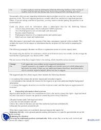 Opening Of Business Letter by Direct Request Letters Part 1 Communication Skills Lecture Handout