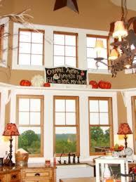 Fall Kitchen Decor - kitchen amazing fall kitchen décor ideas with windows decoration