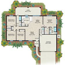 4 bedroom floor plans 2 the cottrell home plan 4 bedroom 2 bath 2 car garage 1 642 sq