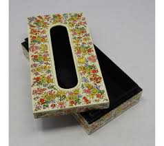 Home Decoratives Buy Original Kashmir Papier Mache Tissue Box At Meraas