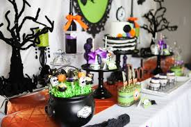 halloween bday party ideas halloween birthday party ideas decorations table 2 loversiq