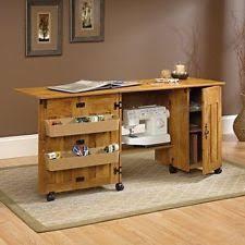 White Sewing Machine Cabinet by Sauder Sewing Cabinet Machine Table Craft Shelves Storage Bins