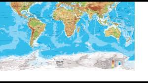 Types Of World Maps by The 3 Types Of Maps Youtube