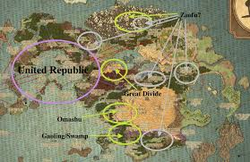 Avatar The Last Airbender Map Prince Lu Ten U2014 Theories On The Location Of Zaofu And The