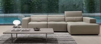 Gamma Leather Sofa by Gamma Tiffany Sectional